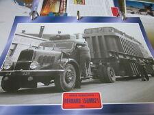 Super Trucks Hauben Zugmaschinen FRankreich Bernard 150MB21, 1954