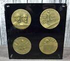 Vintage 1963 Battle of Gettysburg Address Centennial Civil War Medallions PlaqueOther Civil War-Related Items - 158427