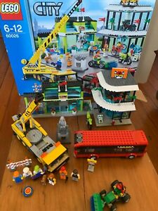 Lego 60026 Town Square including Box and Instructions