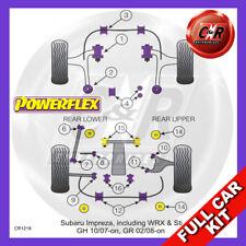 Fits Impreza Turbo + WRX, STi & XV GH (10/07-12/10) Non Adj Powerflex Full Kit