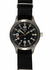 Official MWC MKIII + GTLS Tritium Stainless Steel Military Watch - MKIII/SSQ/SL