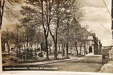 10458 AK Oberwiesenthal Marktplatz Rathaus Hotel 1937
