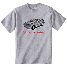 POLISH POLONEZ CARO PLUS FSO RACING P - COTTON GREY TSHIRT - ALL SIZES IN STOCK