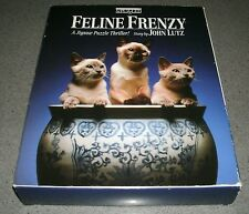 Feline Frenzy Jigsaw Thriller by BePuzzled 1991 edition - Sealed - FREE SHIPPING