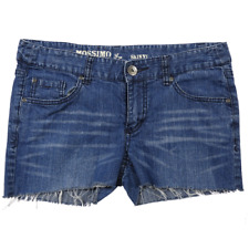 Mossimo Blue Denim Cut-Off Shorts Junior's Size 11