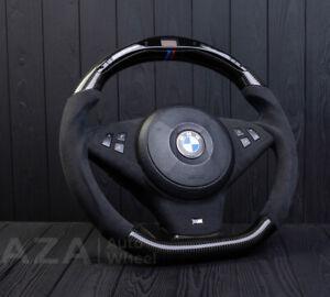 BMW E60 M5 E63 E64 M6 LED Performance digital custom steering Carbon Fiber SMG