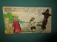 Vintage Topless Lady Fishing Lure Souvenir Lucky Fish Grand Lake St. Mary's Ohio