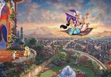 """TENYO Disney """"Aladdin"""" 1000 Piece Jigsaw Puzzle, from Japan"""