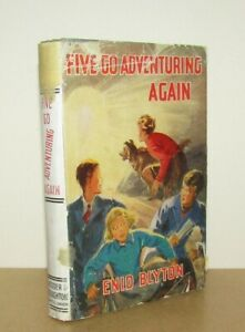 Enid Blyton - Five Go Adventuring Again - 1st/1st (1943 First Edition Later DJ)