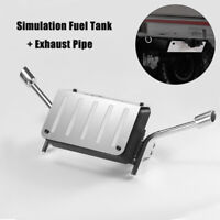 Metal Fuel Tank w/Exhaust Pipe For Traxxas TRX4 TRX-4 Chevrolet K5 Blazer RC Car