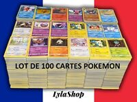 Lot de 100 cartes Pokémon neuves françaises + 3 BRILLANTES OFFERTES 🎁