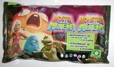 Monsters Gegen Außerirdische Tüte Abzehbilder + 3D Preziosi