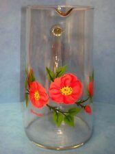 """Franciscan Glass Desert Rose 40 Ounce Pitcher 7-3/4"""" Tall - Excellent"""