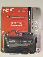 Milwaukee 48-11-1890 M18 FUEL REDLITHIUM HD 9.0 Ah Li-Ion BATTERY F/PRI-SHP NEW!