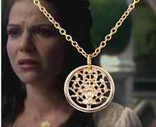 [Brand New] Once Upon A Time Young Regina Gold Tree of Life Necklace- US Seller