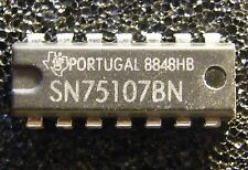 3x SN75107BN Dual Line Receiver,  Texas Instruments