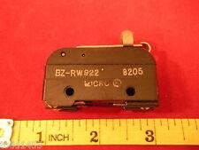 Honeywell Micro Switch Bz Rw922 Limit Roller Lever Arm L95 10a 125250 Vac 14hp