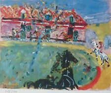 Constantin Terechkovitch the stables SIGNED HAND NUMBERED LITHOGRAPH