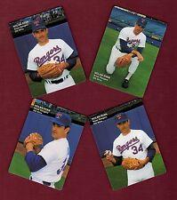 NOLAN RYAN,Texas Rangers 300 Wins FACTORY-SEALED 4-card set 1991 Mothers Cookies