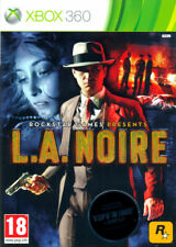 L.A. Noire Xbox 360 game (The Naked City Edition, 2011)