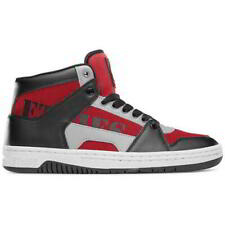 Etnies MC Rap High Mens Hi Top Black Red Skate Shoes Trainers Size 8-11
