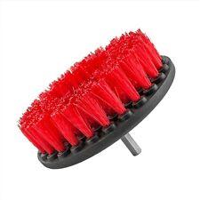 Tipos de químicos Alfombra Cepillo con accesorio de taladro, resistente, Rojo-ACC_201_HD