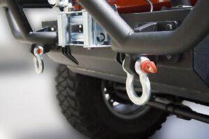 For Jeep Wrangler, UTV and Offroading Galvanized Recovery D-Ring  3/4 diameter39