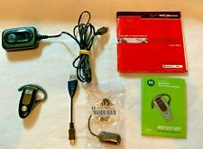 Motorola H505 Bluetooth Earpiece with Charger + Usb cord Great Shape