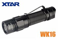 New XTAR VENUS WK16 Cree XP-G3 550 Lumens LED Flashlight Torch ( AA, 2A, 14500 )