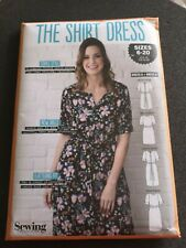 The Shirt Dress Simply Sewing Pattern Uncut sizes 6-20