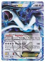 POKEMON • Lugia EX CARTA RARA ULTRA HOLO • BLACK STAR PROMO BW83