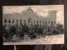 1903 Russian Post Office In Shanghai China RPPC Postcard Cover Max Worlf Breslau