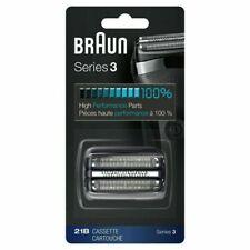 Braun Series 3 21B Cabezal de Repuesto para Afeitadoras 300s/301s - Negro