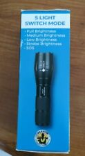Warrior Light, Ultra Bright Tac 1000 Lumen Military Grade Flashlight