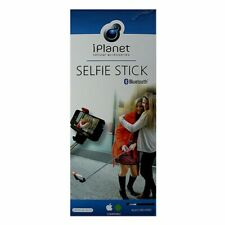 iPlanet Bluetooth Selfie Stick for iOS and Android - Black