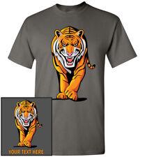 Stalking Tiger T-Shirt, Men Women Kids Tank Long Personalized Custom Tee bengal