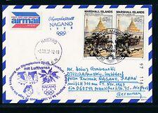 66357) LH Olympiade So-LP Frankfurt - Nagano 24.11.97, cd Marshall Isl. MeF 50c