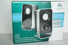 Logitech LS11 2.0 Stereo Speaker System