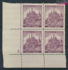 Bohemen en Moravië 27 met Nummerplaat postfris MNH 1939 Ruttenberg (9310346