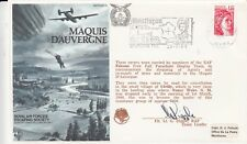 28b Marquis D'Auverge  commemorate the dropping of agents and re-supply of arms