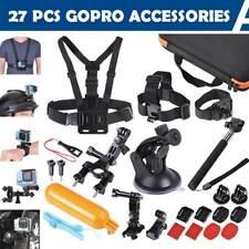 27Pcs Accessories Pack Camera Mount Kit for Gopro Hero 6 5 4 3 2 1 SJCAM Xiaomi