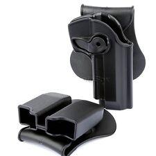 Rechten Hand Pistole Holster Paddel doppelte Magazintasche für M92 Modell