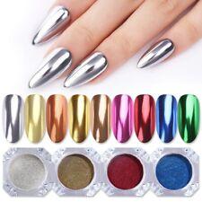 Chrome green purple red gold pink blue pigment nail powder metallic soap foam