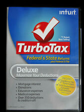 NEW / SEALED INTUIT TURBOTAX DELUXE 2012 ~ FEDERAL & STATE RETURNS & E-FILE