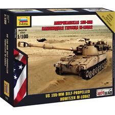 ZVEZDA 7422 M-109 Howitzer Spg 1:100 Military Model Kit