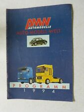 catalogue auto camion AMW de 1994 au 1:87