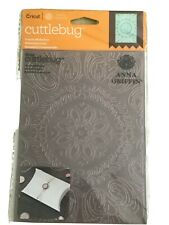 Large Cuttlebug Anna Griffin 1pc Embossing Folder 'Ornate Medallion' ~ HTF