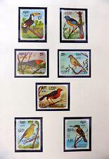 KAMPUCHEA Beautiful Birds Set of 7 U/M NB4489