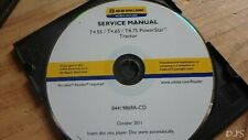 2011 NEW HOLLAND T4.55 T4.65 T4.75 POWERSTAR TRACTOR SERVICE MANUAL CD DN144