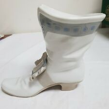 VERY LARGE MUSKETEER WARRIOR BOOT  - VINTAGE NAO BY LLADRO RETIRED